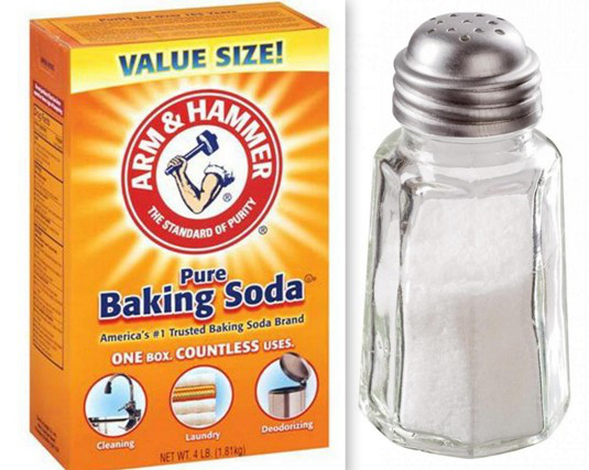 Use Baking Soda + Salt