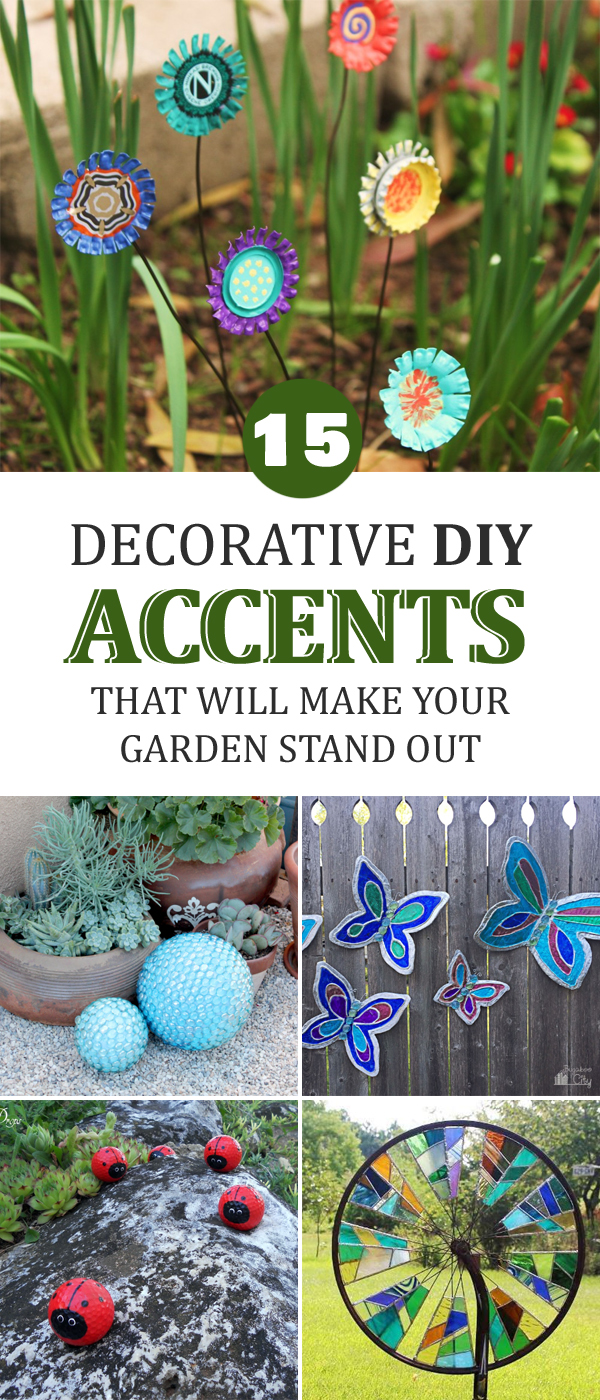 Decorative DIY Accents That Will Make Your Garden Stand Out