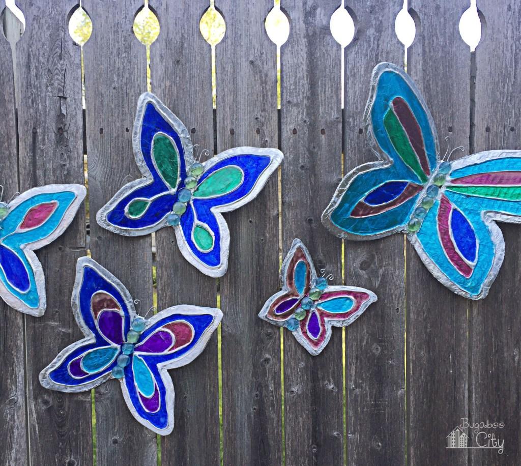 Butterfly Garden Ornaments