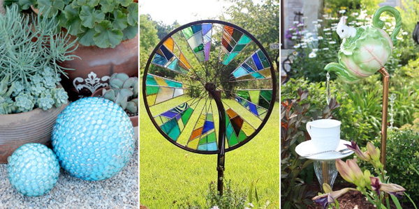 15 decorative diy accents that will make your garden stand out - Garden Accents