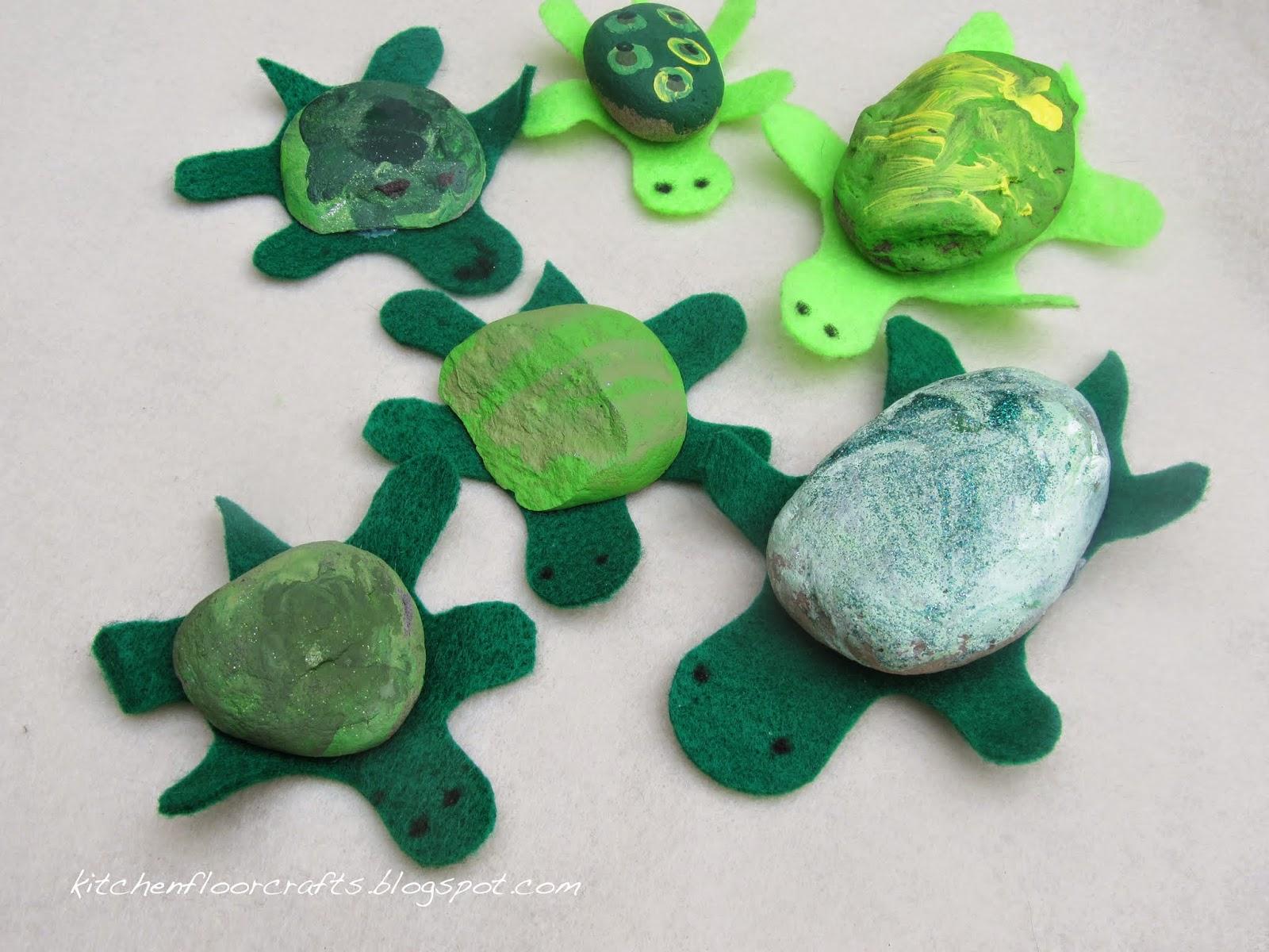 Foolish Tortoise Painted Rocks