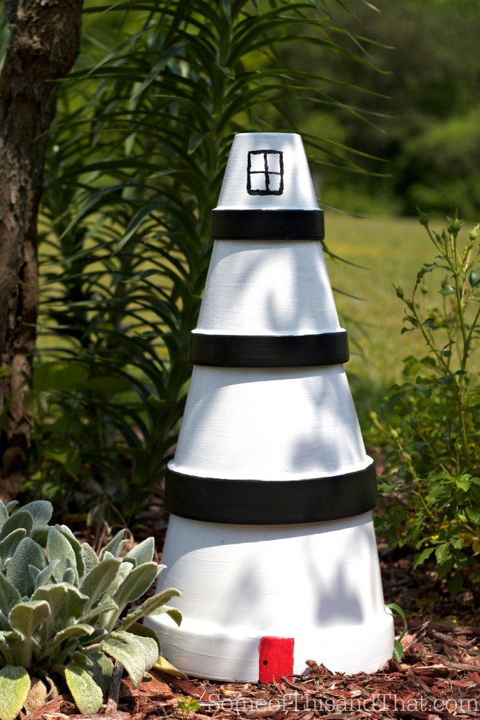 Lighthouse Lawn Ornament