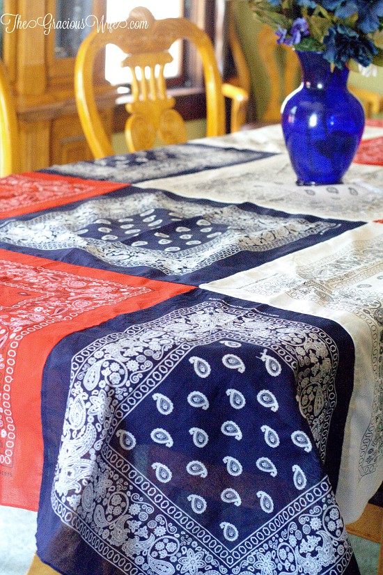 Bandanna Tablecloth