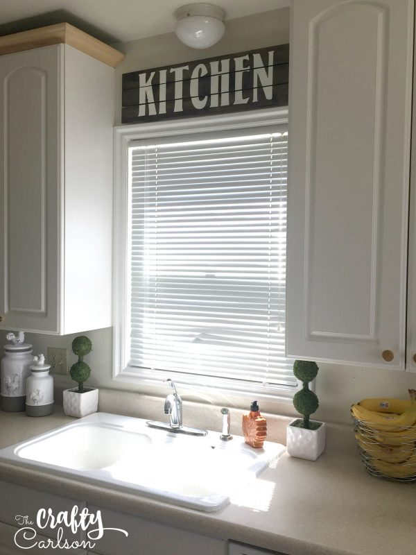 Farmhouse Style Kitchen Sign