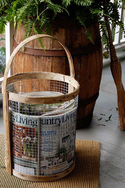 Magazine Holder Basket
