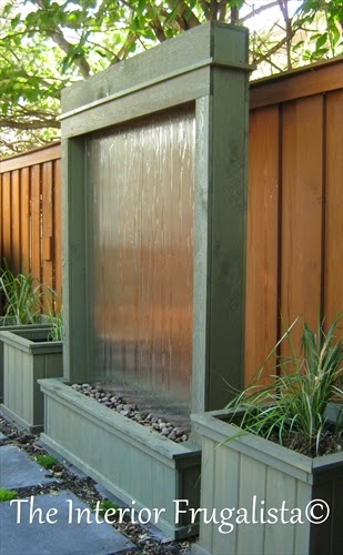 Outdoor Water Wall