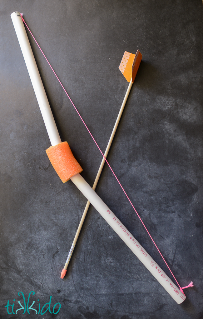 PVC Pipe Bow Arrows