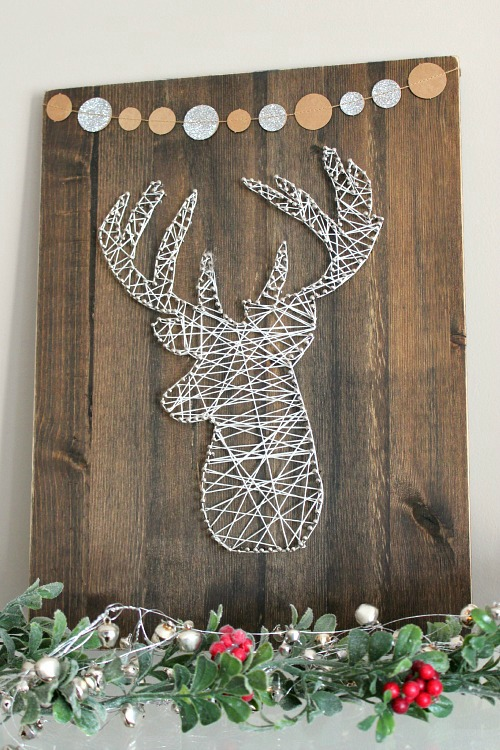 Reindeer String Art