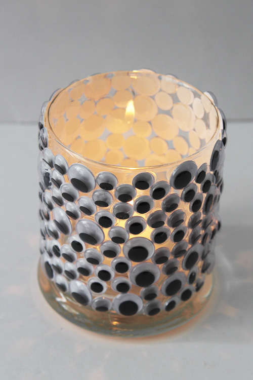 Googly Eye Candle Holder