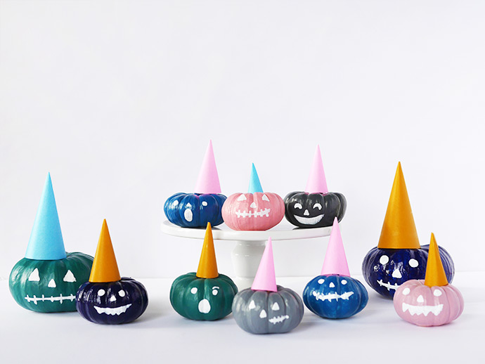 Painted Party Pumpkins
