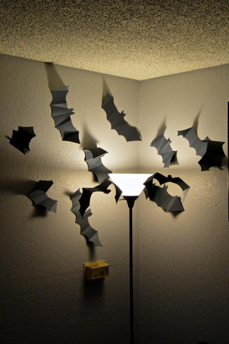 paper bat swarm