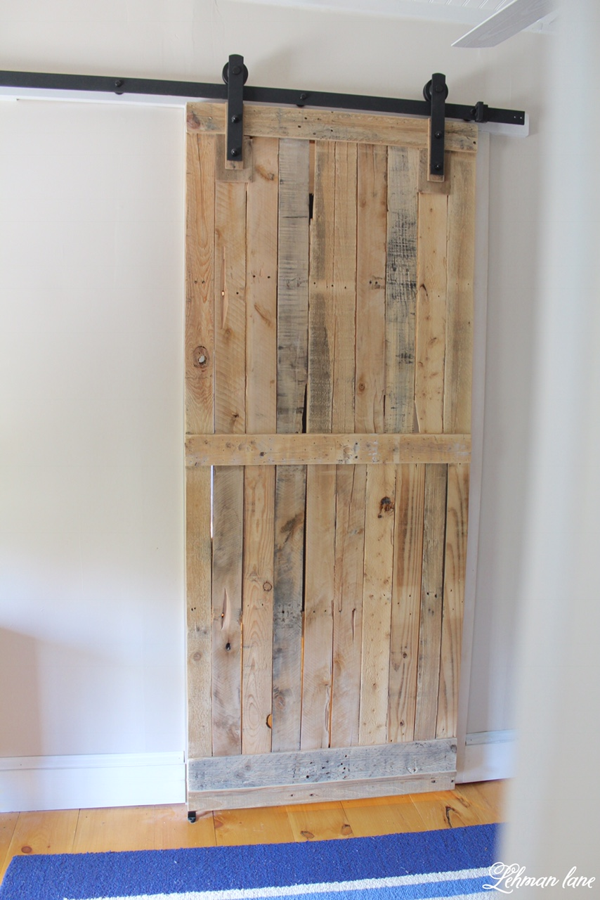 Pallet Sliding Barn Door