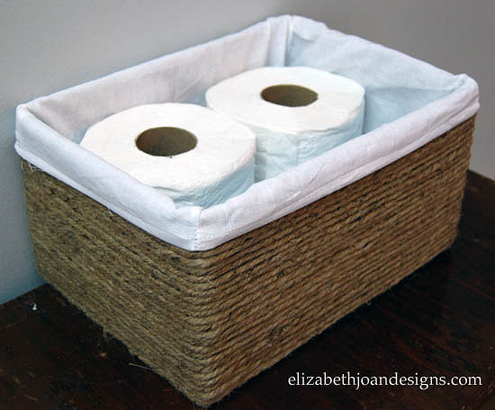 Turn Boxes Into Baskets