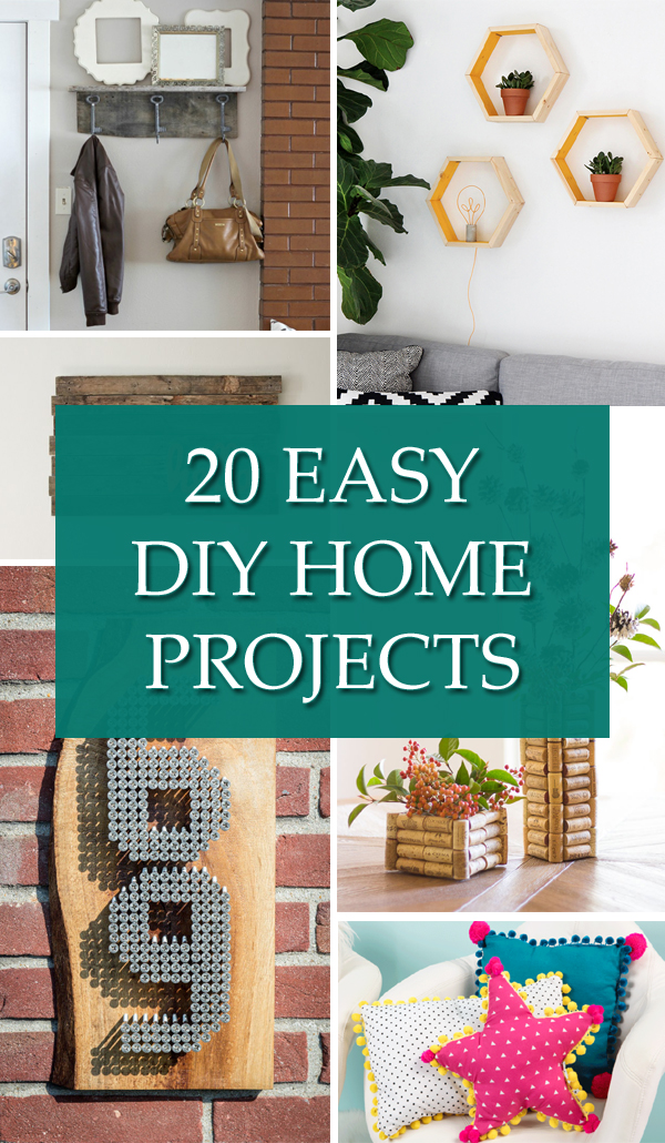 20 Easy DIY Home Projects You Can Do In A Day