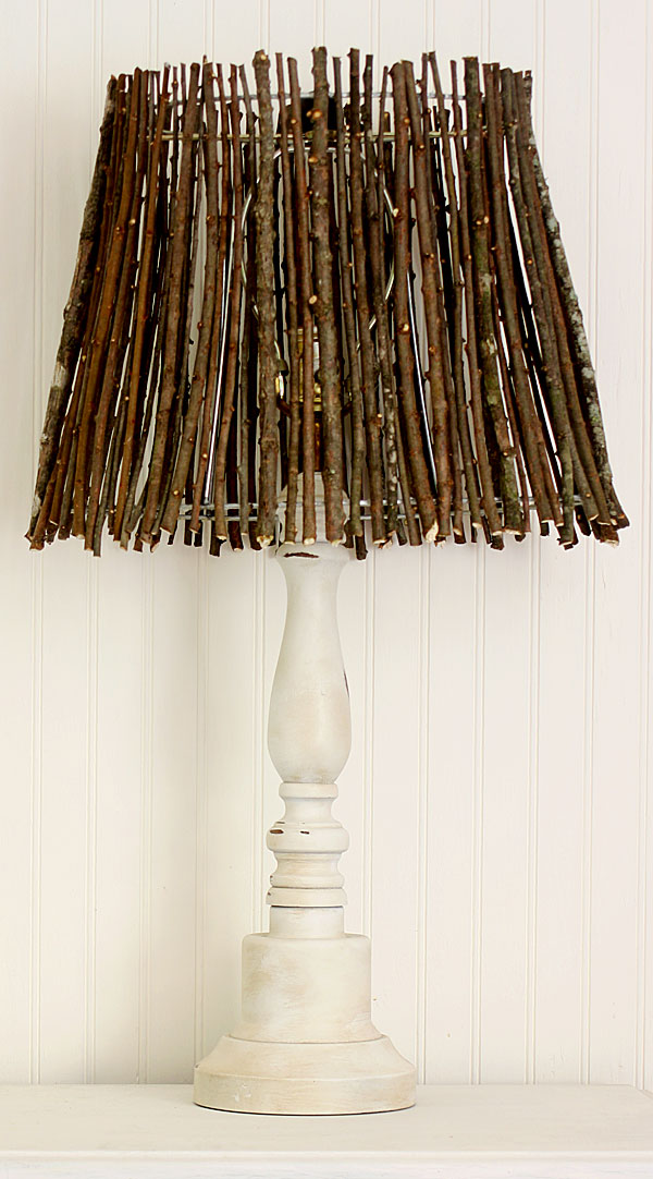 Twig Lamp Shade