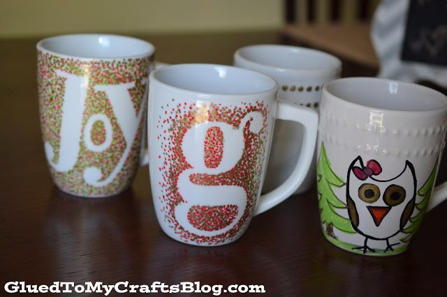 Custom Sharpie Mugs