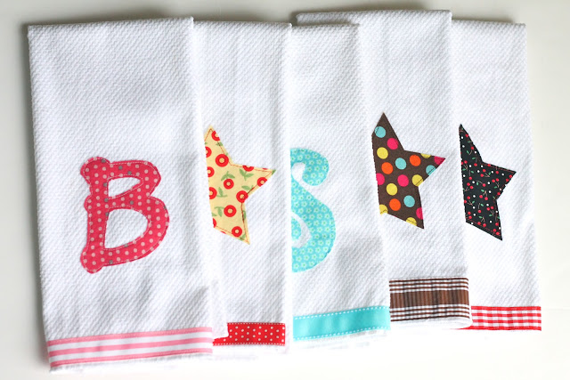 Embellished Kitchen Towels