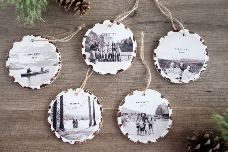 Photo Keepsake Ornaments