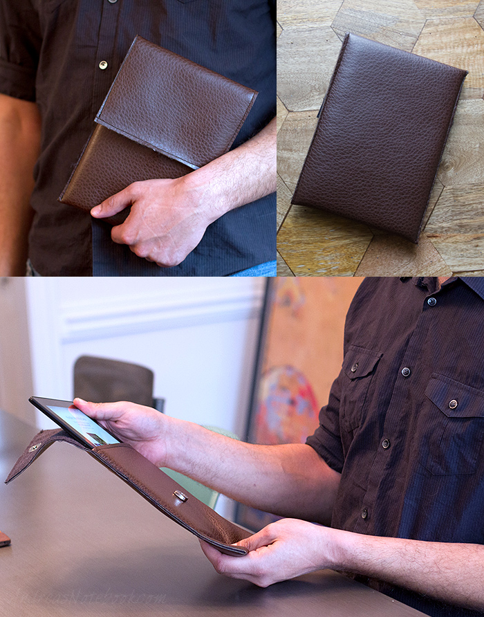 Simple Leather Tablet Case