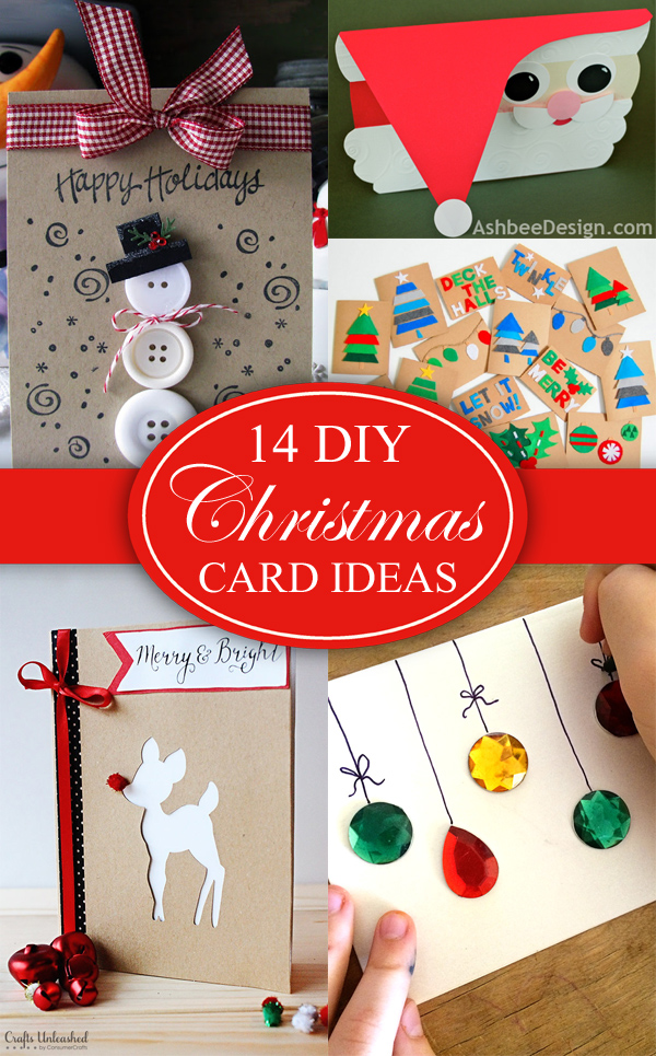 14 Creative DIY Christmas Card Ideas That Are Sure To Stand Out