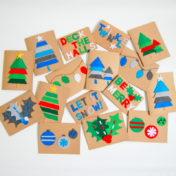 Felt Christmas Cards