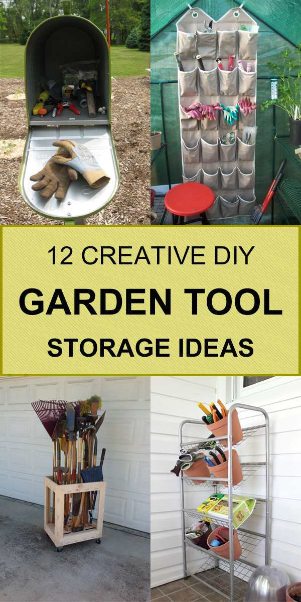 12 Creative DIY Garden Tool Storage Ideas