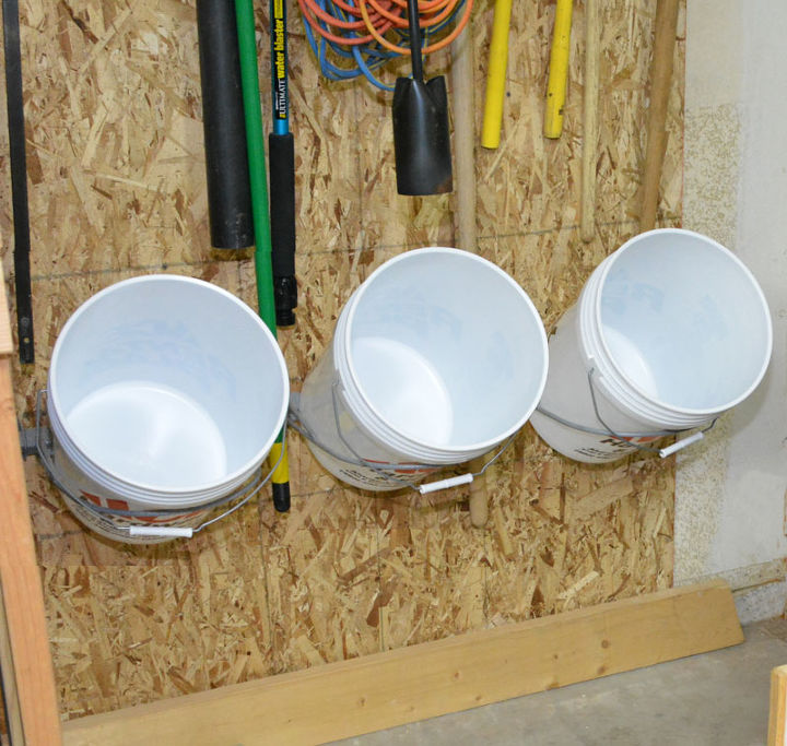 Bucket Storage Rack