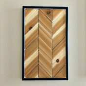 Chevron Wood Wall Art