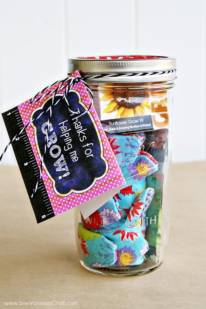 Garden Kit Jar
