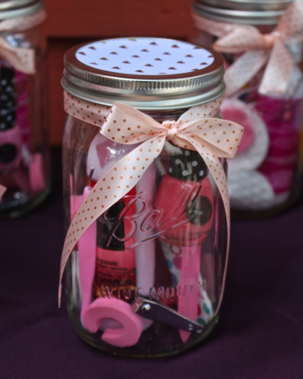 Mani-Pedi Gift in a Jar