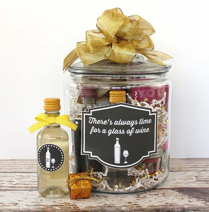 Wine Lover's Gift in a Jar