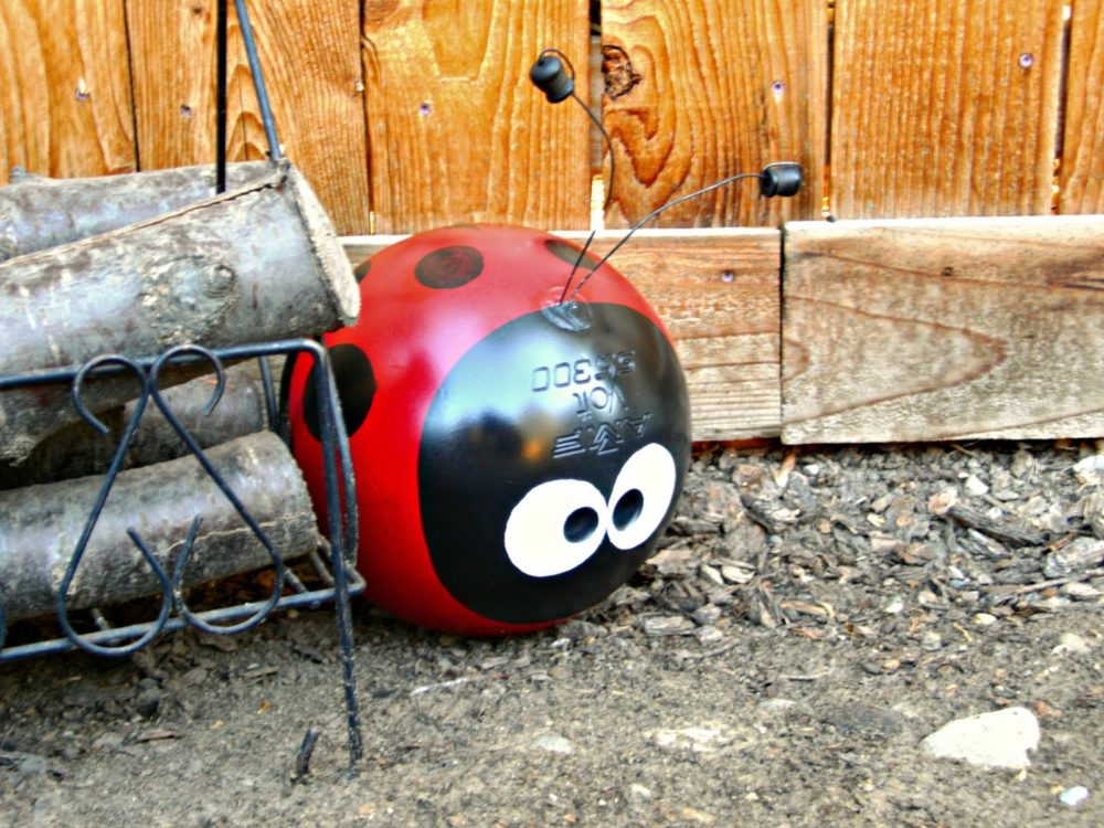 From Bowling Ball to Garden Art