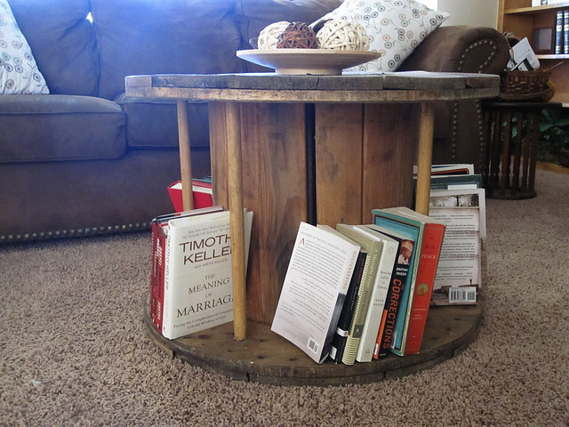 From Cable Spool to Coffee Table
