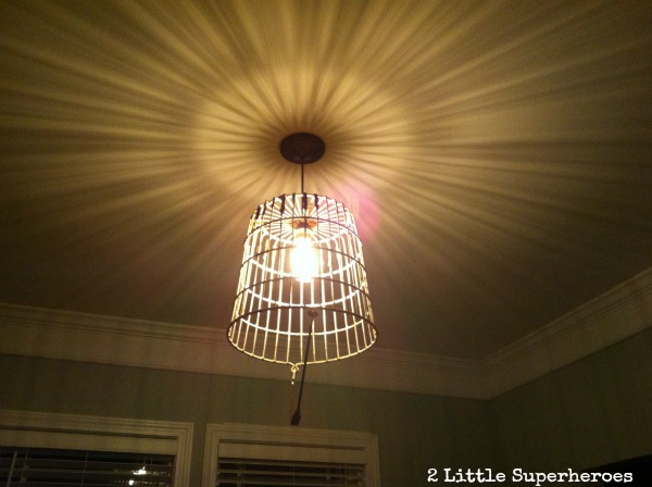 From Egg Basket to Pendant Light
