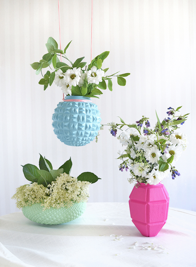 From Glass Lamp Shades to Flower Vases