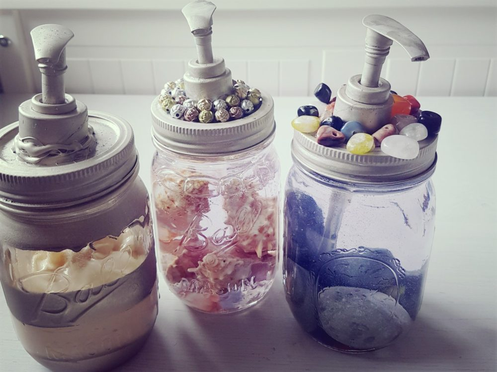 From Mason Jars to Soap Dispensers