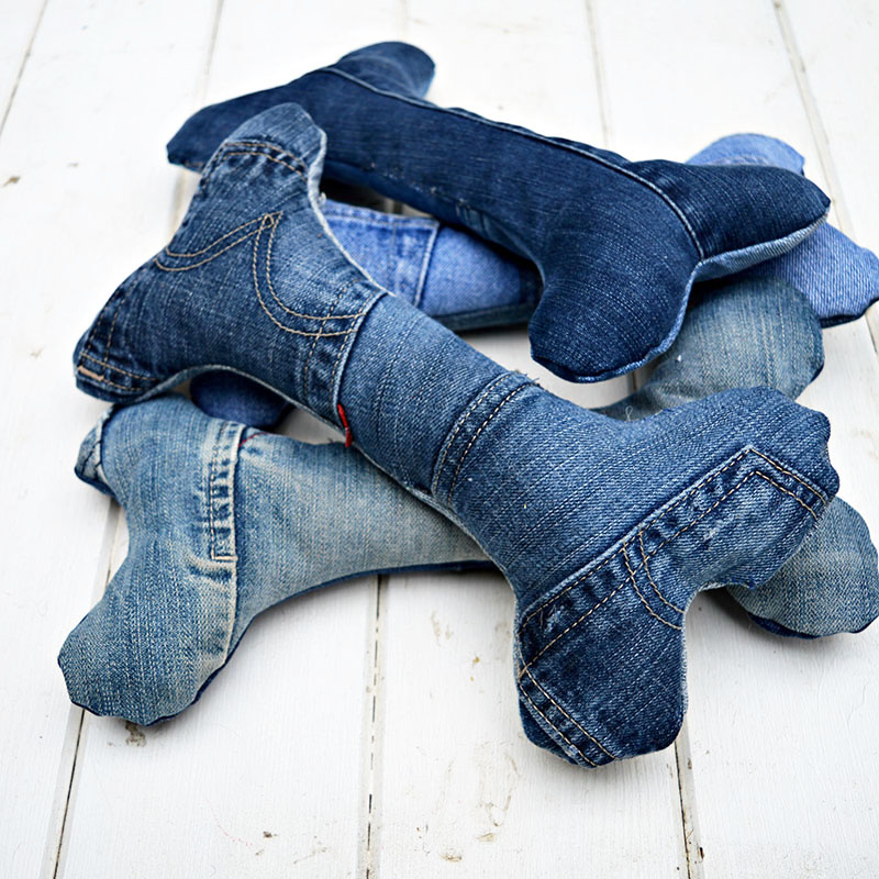 From Old Jeans to Dog Toys