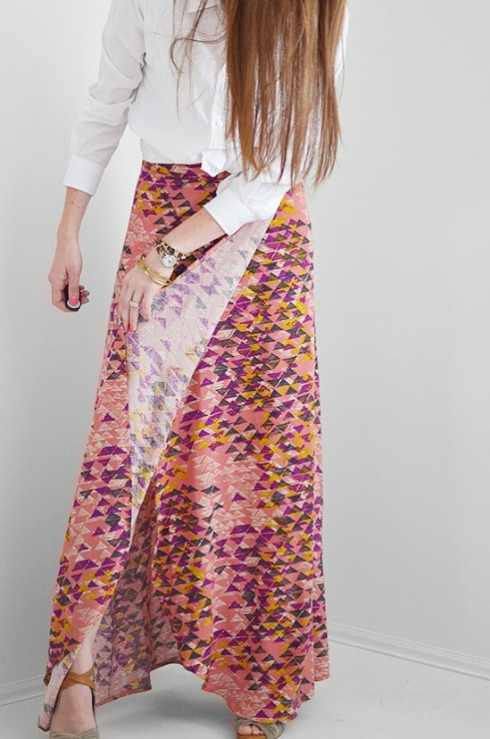 Fiesta Wrap Skirt