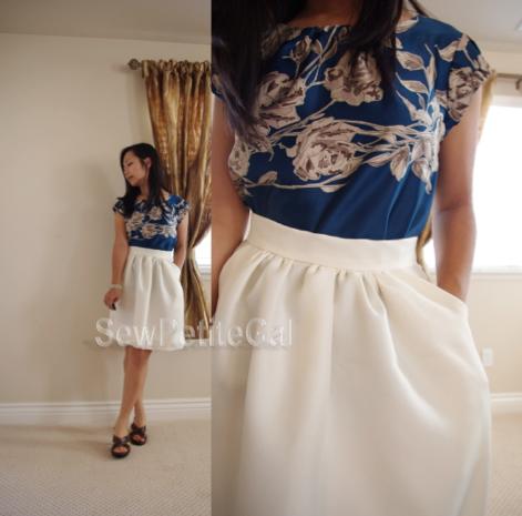 J. Crew Inspired Classic Skirt