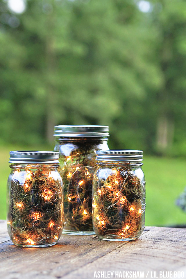 Mason Jar Firefly Lights