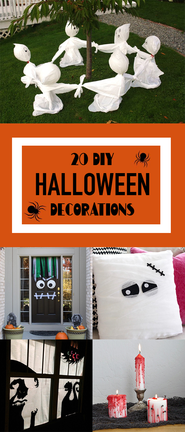 20 Amazing DIY Halloween Decorations You Can Make at Home