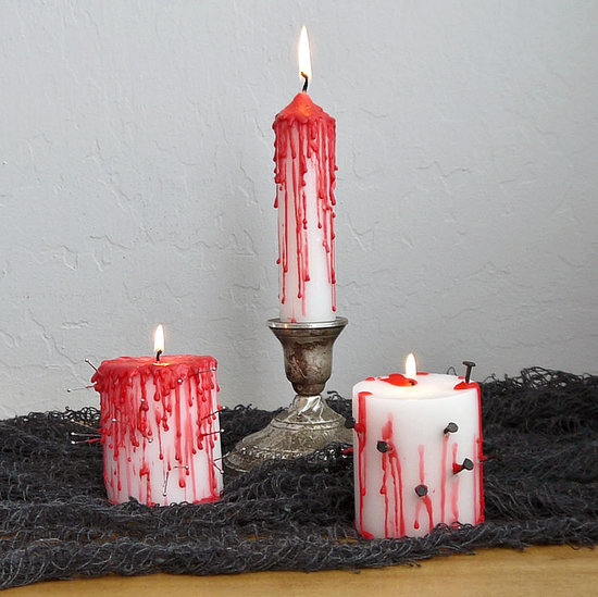 Dripping Bloody Candles