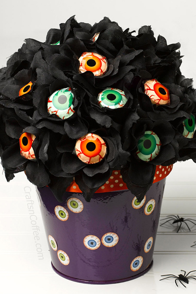 Eyeball Lollipop Rose Bouquet
