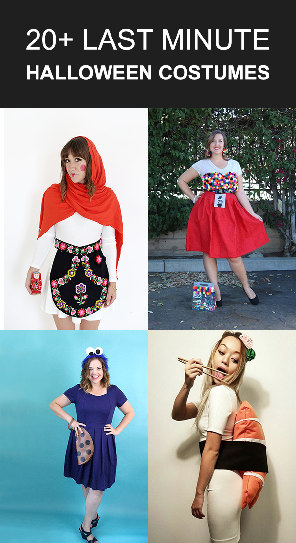20+ Last-Minute Halloween Costumes You Can Easily DIY