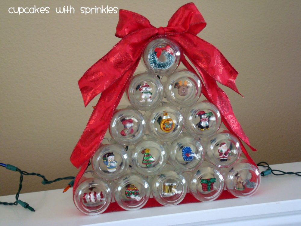 Baby Food Jar Christmas Tree
