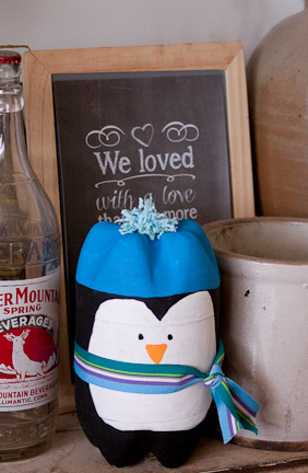 Soda Bottle Penguin