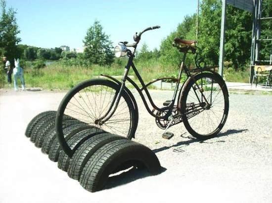 Tire Bike Stand