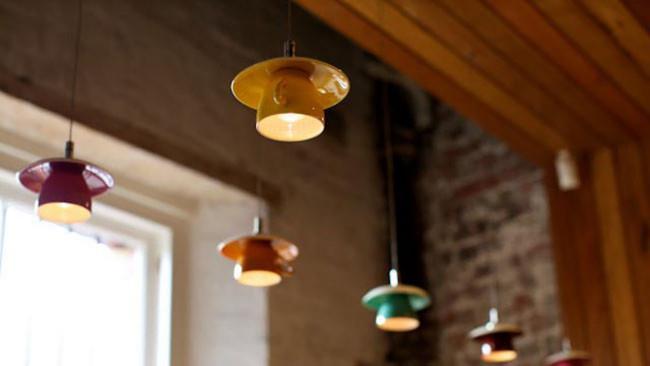 upside-down teacup lights