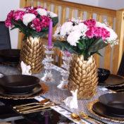 Plastic Spoon Vases
