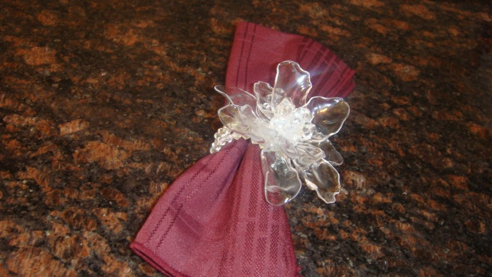 Spoon Flower Napkin Ring